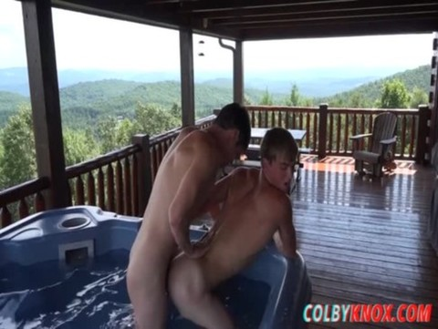 Colby Gives Tyler A Facial