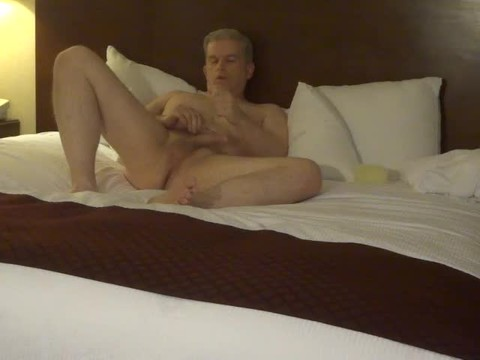 Masturbating In My Hotel Room