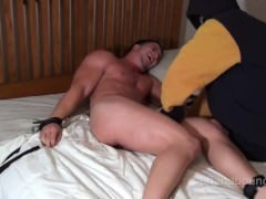 delicious Hunky Muscle tied And Tickled - Nick Eros