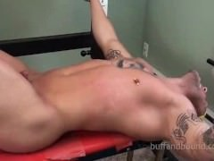 sexy throbbing Muscle bound And Tickled - Ryan Skull