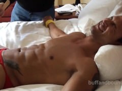 marvelous And sweet Muscle Hunk tied And Tickled - Dante Brice