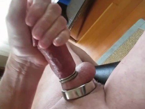 I Love Watching Porn while Doing Various Things To My knob And Balls.   When I watch And Hear someone spooge, I spooge Too. Maybe you Will Edge Along