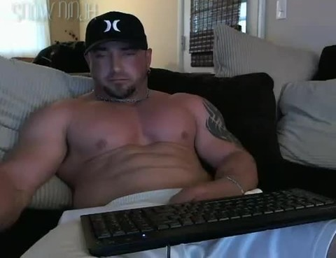 Straight Bodybuilder sex tool & Phone Sex