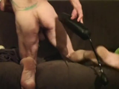 lengthy jock And Inflatable sex dildo Self Demolition , Finish By Fisting