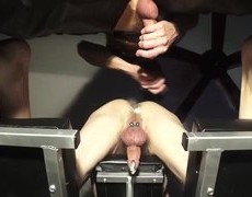 BMWCROTCHROCKET PLEASURES HIS cock TONIGHT. AFTER A long DAY, that chap ORDERED ME ON THE fuck BENCH, LUBES UP MY gap AND fucks ME TILL that chap'S DO