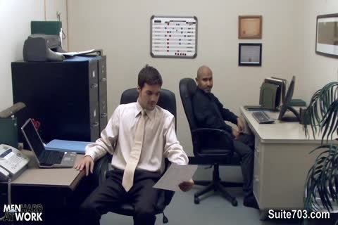 naughty homo Workers fucking In The Office