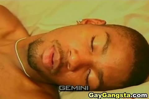 delicious gay Gangsta On anal banging Scene