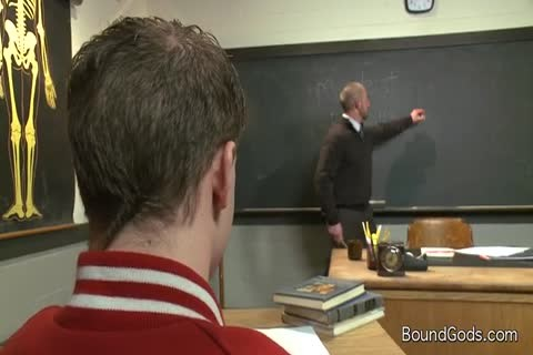 Male Teacher Teaches Male Student About cock engulfing