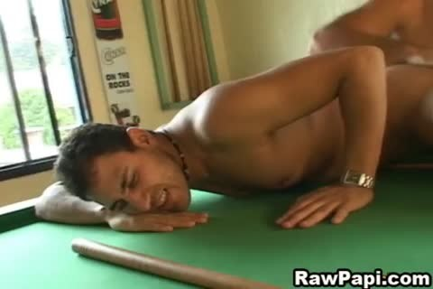 Great twink On twink pooper job On A Pool Table