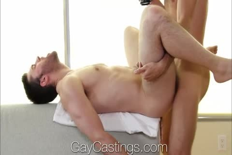lad On The Casting couch bows Over To get A cock In His ass