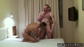 homosexual Scene With Three Beasts Of Sex!
