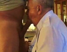 daddy older Suit Silver Daddy Have nice Sex In Hotel Room