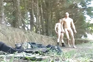 gay bang In The Woods