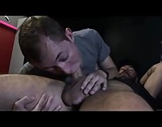 An  mad  knob  Sucker  Puts  His  Wicked  Skills  To  Work  And  Earns  His  naughty Load  Of  man-Juice
