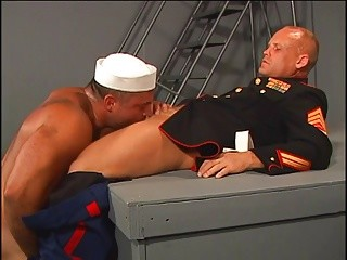 homosexual hairy Soldiers Sodomizing chocolate hole