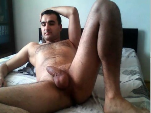 Romanian Fratboy Dodo Cums On cam
