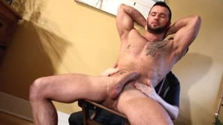 Two pumped up guys Who Love Playing With dick