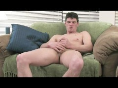 lascivious Hunk Busts A Nut