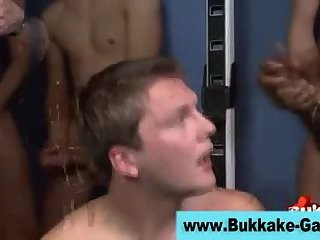 lovely Interracial gangbang