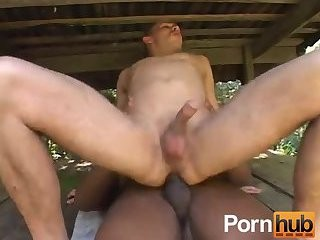 twink gets Toyed & hammered Outdoor