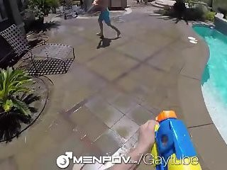 cute dude gets nailed By POV