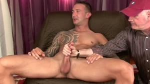 I Tell A str8 Muscle twink I have to Test Him By Jacking Him,so that man Can Do A 3way With A Married couple
