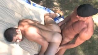 Two gay boyz plowing On A Camping Trip!