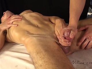 Jason Lucius gets Oily handjob