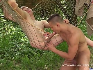 Peter And Radan Outdoor pecker Riding