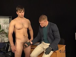 Paul And Viktor horny cook jerking