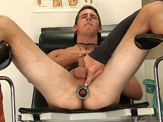 Lukas Feitl Toying At Doctors Room
