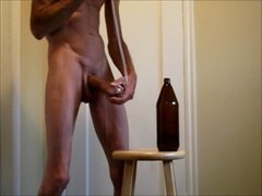 bare ass Self plow and ejaculate and banged in ...