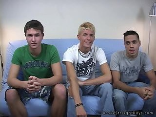 sleazy legal age teenager boyz Threeway banging