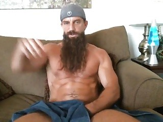 Mountain man Masturbates