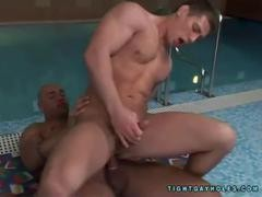 Randy Jones - coarse Muscle Daddy Poolside Ana