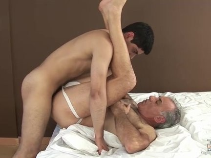 Taking Daddy's Virgin butt