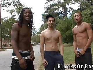 Vinnie Tuscano Having A pleasure Time With dark males