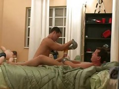 College twinks With tied Hands sucking