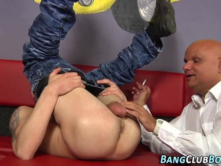young homosexual Euro ass Toyed