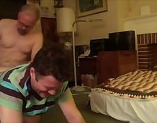 Here Is The Full plow Of Me Getting Seeded By A gigantic 10-Pounder Daddy Who pokes Me So Hard The cock rubber Breaks.. And he Keeps On banging And ba