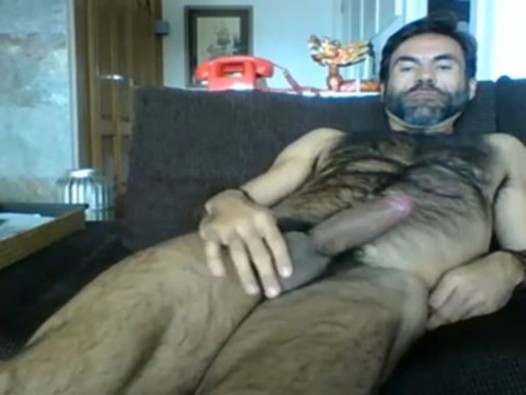 alluring bushy Daddy Cumming