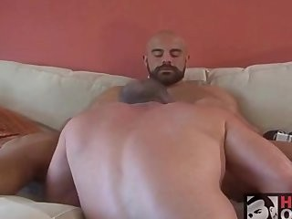 hairy Daddy fucking