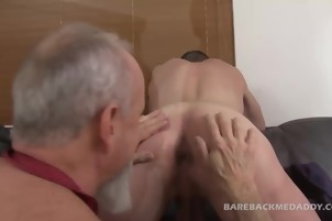 messy daddy chap slams A Younger dude's ass At The Office