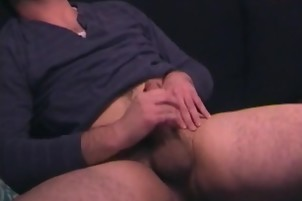 tasty man likes To jerk off His supplementary tiny penis