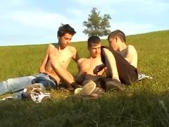 gay fine Porn outdoors