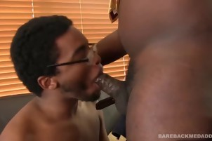 Two ebon dudes fuck Each Other In The pooper