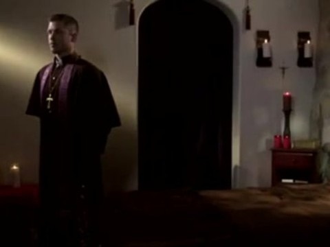 The Priest And The Altar guy