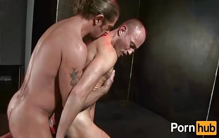 Hard Up twinks Having Some Flaming Rear Making Love.