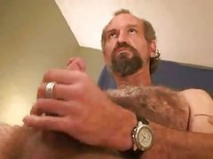 aged Bear Solo Masturbating enjoyment