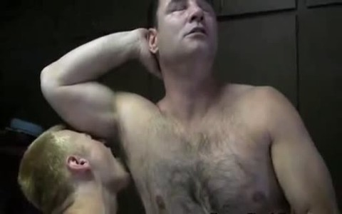 delicious Daddy And His lad